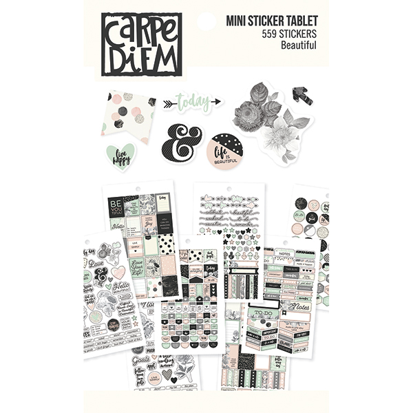 Carpe diem stickerboek beautiful