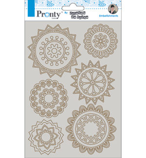 Pronty chipboard doily's