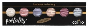 Coliro Pearlcolors watercolor set Fairytaile