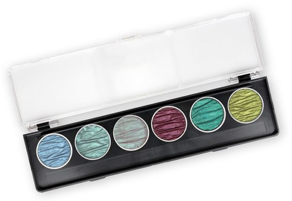 Coliro Pearl Color set 6 colors paradise
