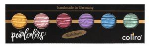 Coliro Pearlcolors watercolor set Rainbow