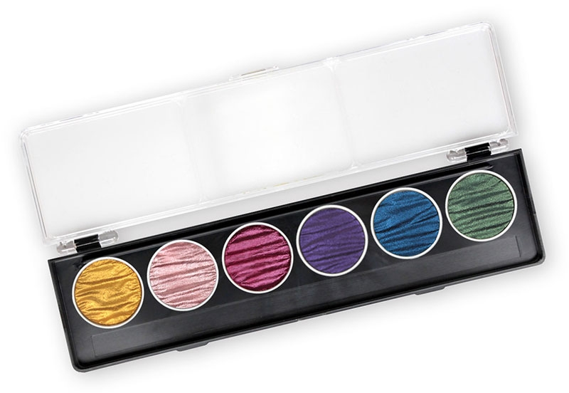 Coliro Pearl Color set 6 colors rainbow