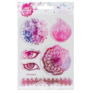 Jane Davenport doilies clearstamps