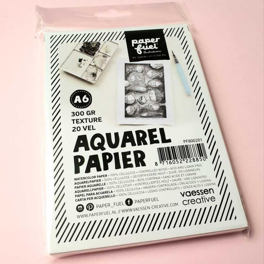 Paperfuel aquarel papier