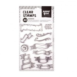 Paperfuel clearstamps banners