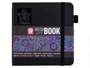 Talens sketch notebook zwart papier