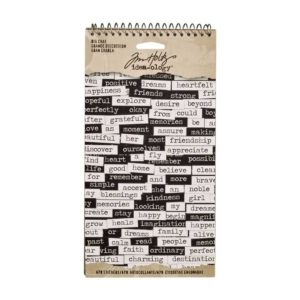 Tim Holtz Big chat stickers
