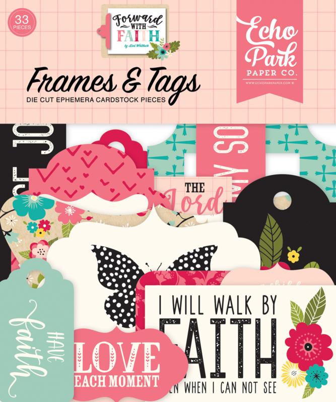 echo park forward with faith frames tags
