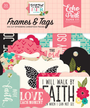 echo park forward with faith frames tags