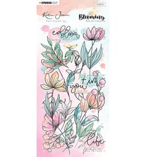 Karin Joan rub on Blooming 2