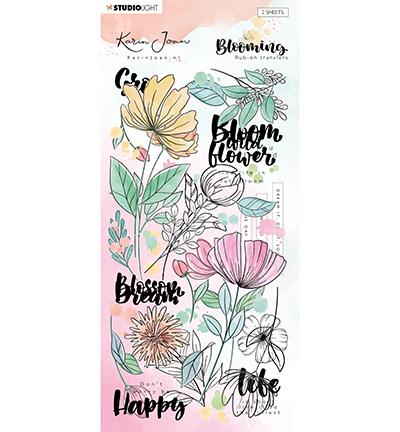 Karin Joan rub on Blooming