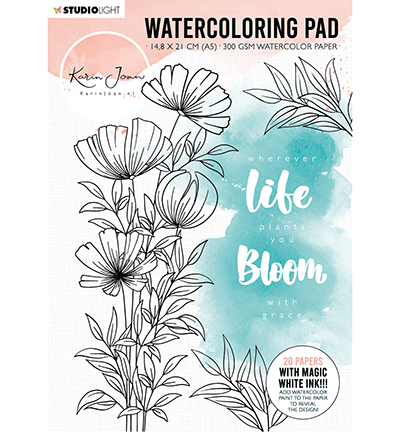Karin Joan watercoloring pad
