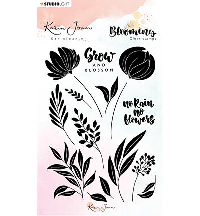 karin joan clearstamps blooming 3