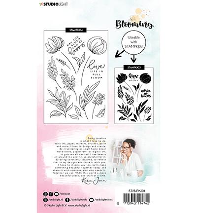 karin joan clearstamps blooming 4 achterkant