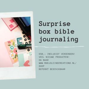 surprise box biblejournaling