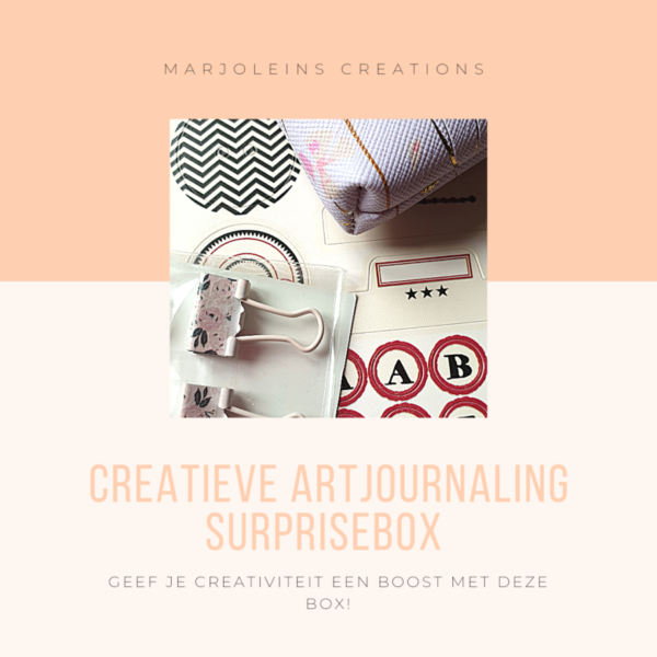 Creatieve artjournaling surprise box