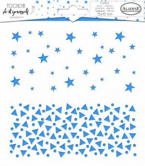 Stencil Aladine sterren