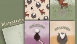 christelijke kaartenset dieren