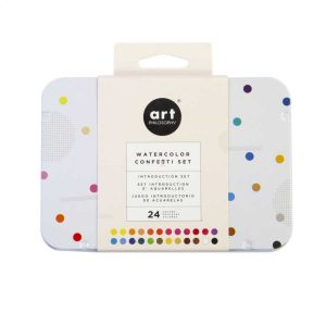 prima marketing art philosophy watercolor confetti set