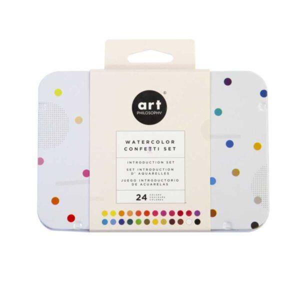 prima marketing art philosophy watercolor confetti set