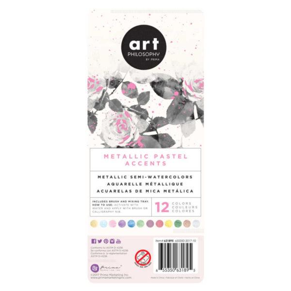 prima marketing metallic pastel accents