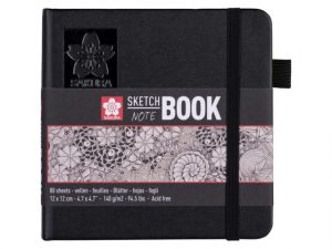 Sketch book talens 12x12