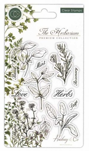 craft consortium the herbarium clearstamps