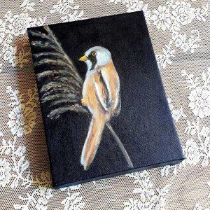 schilderij baardmannetje