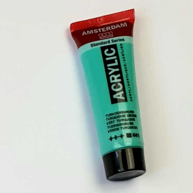 acrylverf amsterdam turkooisblauw