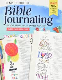 Complete guide to Biblejournaling