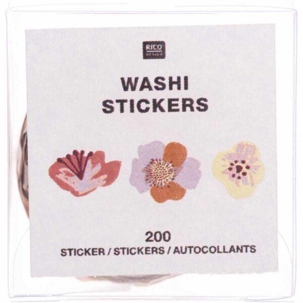 flower washi sticker nature 2