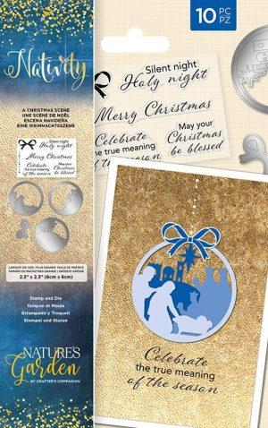 Stamp & die - a christmas scene