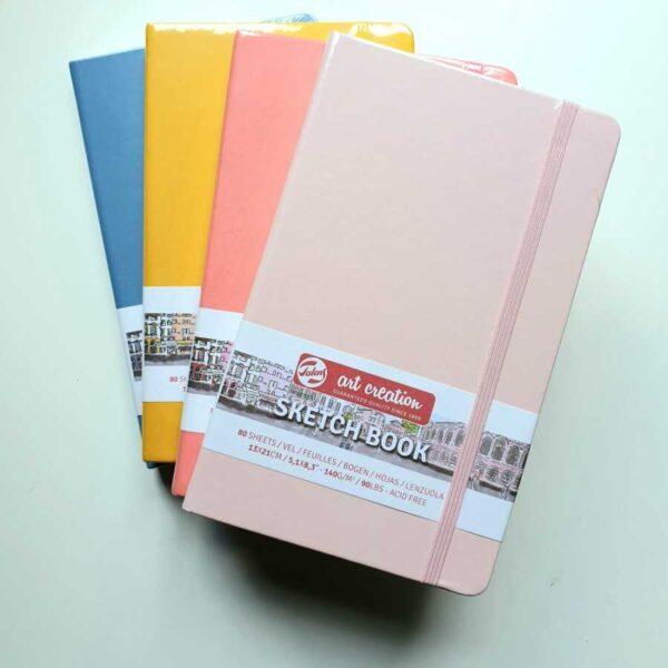 Talens sketchbook 13x21 kleur