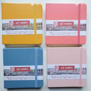 Talens sketchbook kleur