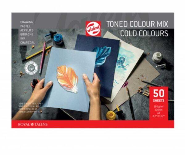 toned colourmix cold colours