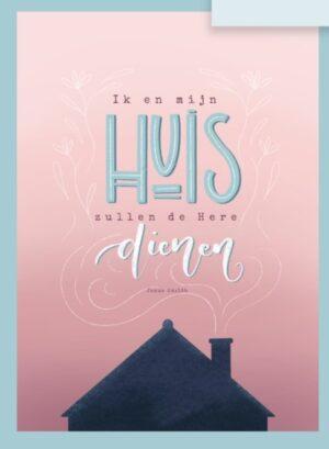 Kaart Ik en mijn huis Jozua 24
