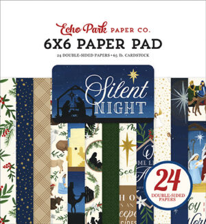 Silent night echo park papierblok