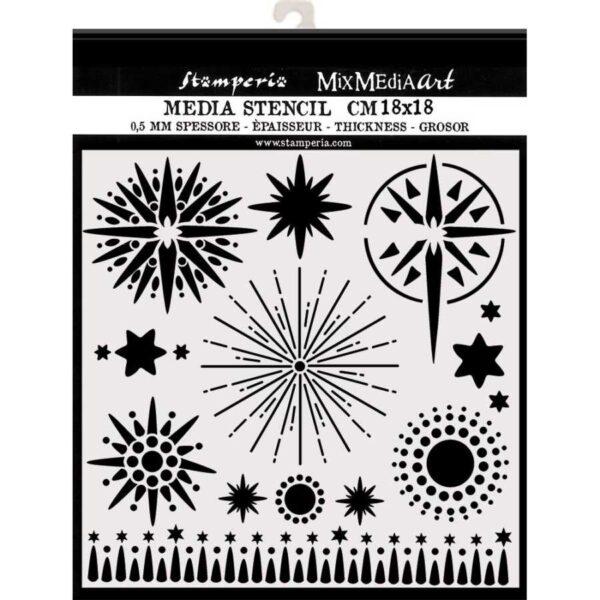 Stencil sterren