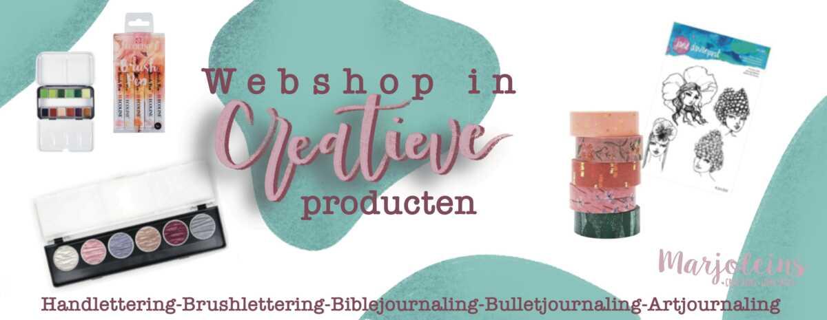 Webshop creatieve producten