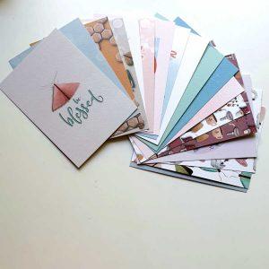 Voordeel verrassingsset kaarten 17 stuks