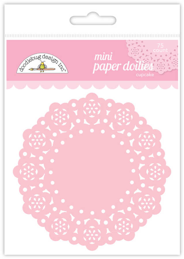 doilies roze