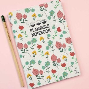 plantable notebook bloom your message
