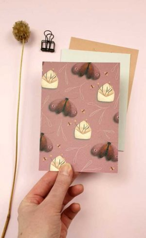 ansichtkaart snailmail
