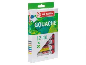Gouache 8x 12ml (Talens)