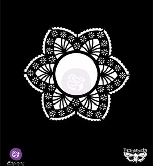 Stencil Lace doily Prima Marketing