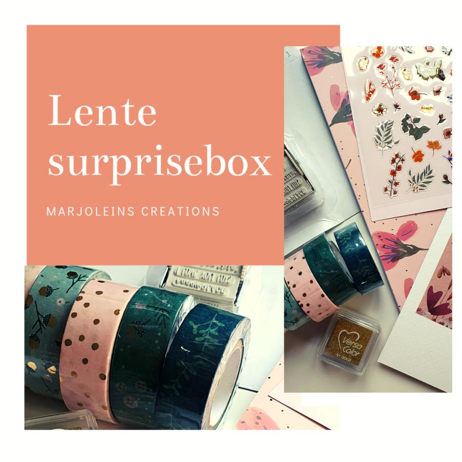 lente suprise box Marjoleins Creations