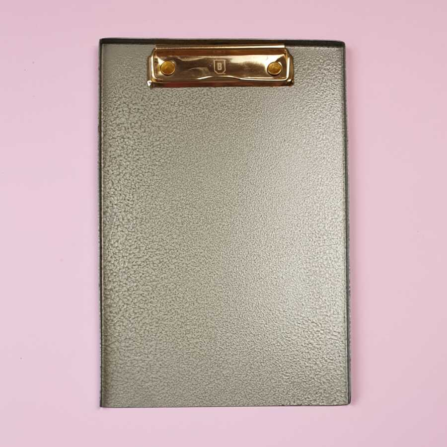 a5 clipboard metal brut homeware