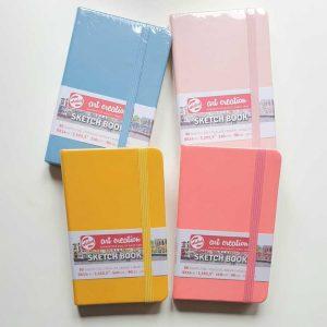Sketch book Talens 9x14 cm kleur