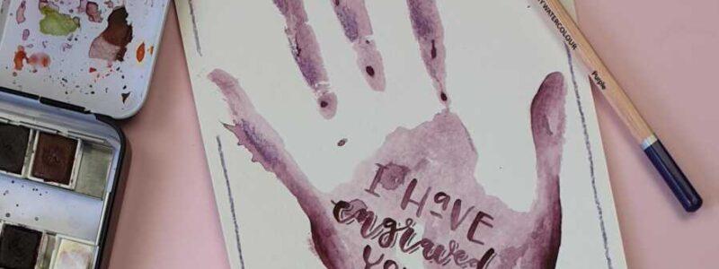 jesaja 49:16 creatief