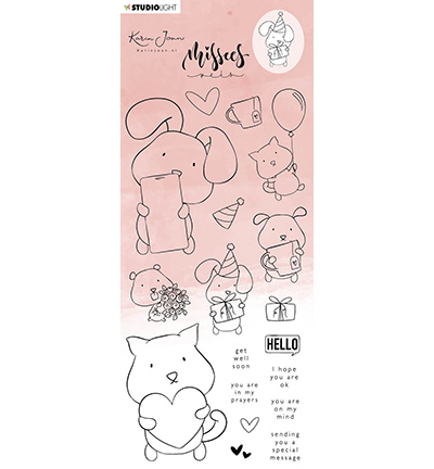 KJ Clear Stamp Missees Pets Missees Collection nr.15
